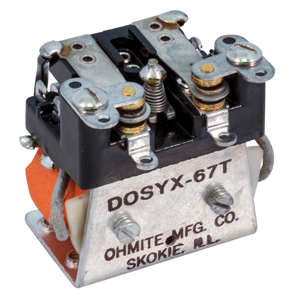 Open Frame Relays Dc Dpdt Relay Normally Enlarge Image