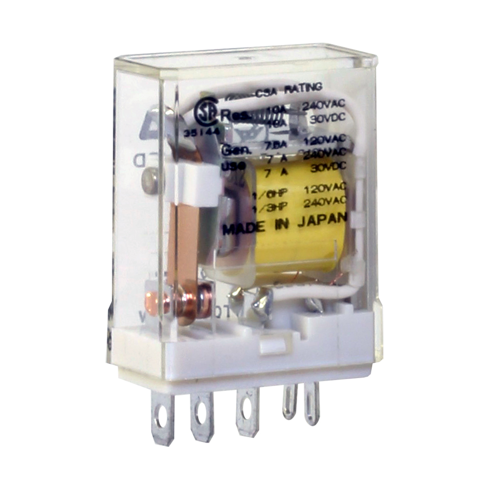 613-24R SPDT 10A 240VAC 28VDC  NEW! PC Mount Relay