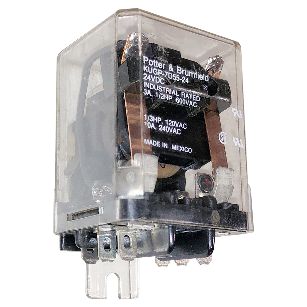 Plug In Relays Blade Contacts Relay3pdt Relay Schematiclatched Relay4pdt Schematicrelays Enlarge Image Ko Kugp 7d55 24 Potter Brumfield Surface Mount