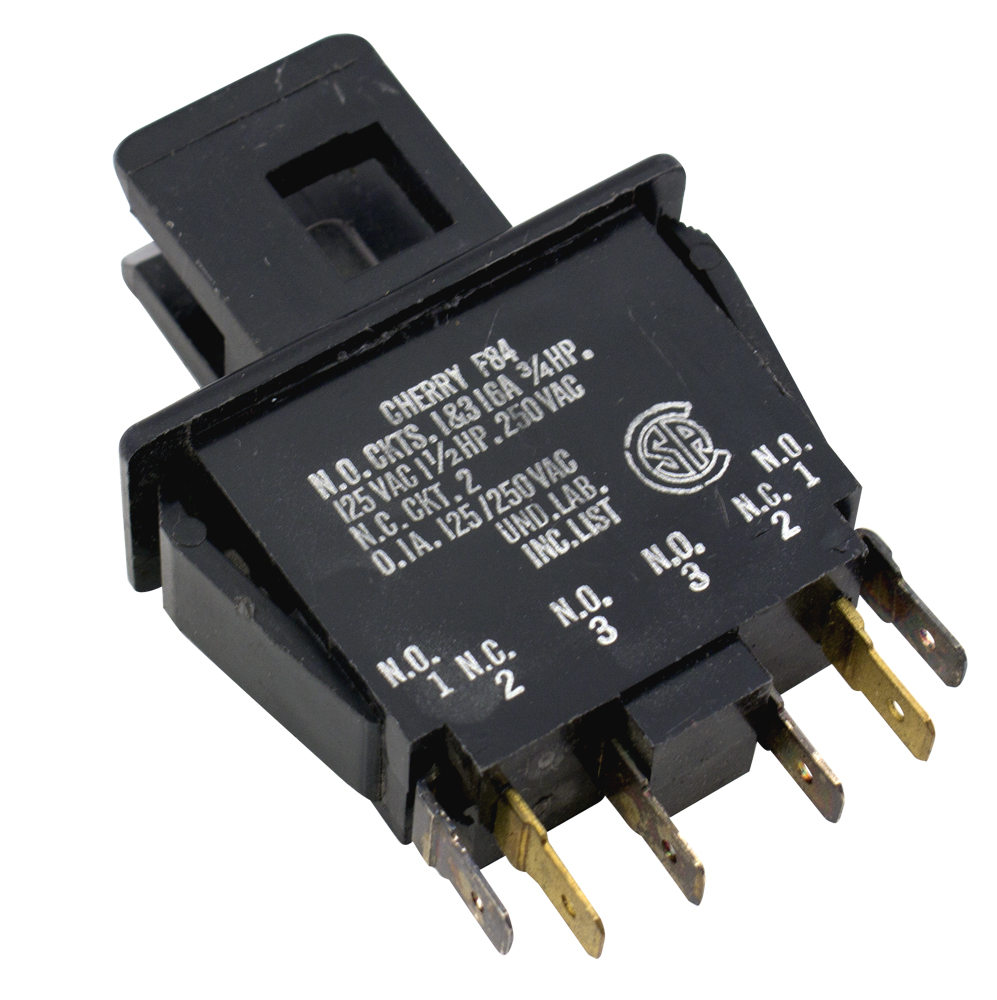 Non Illuminated Pushbutton Switches Surplus Sales Of Nebraska Details About Momentary Latching Push Button Switch Rectangular Dc Cherry 010 16 Amp 125 250vac Dpdt