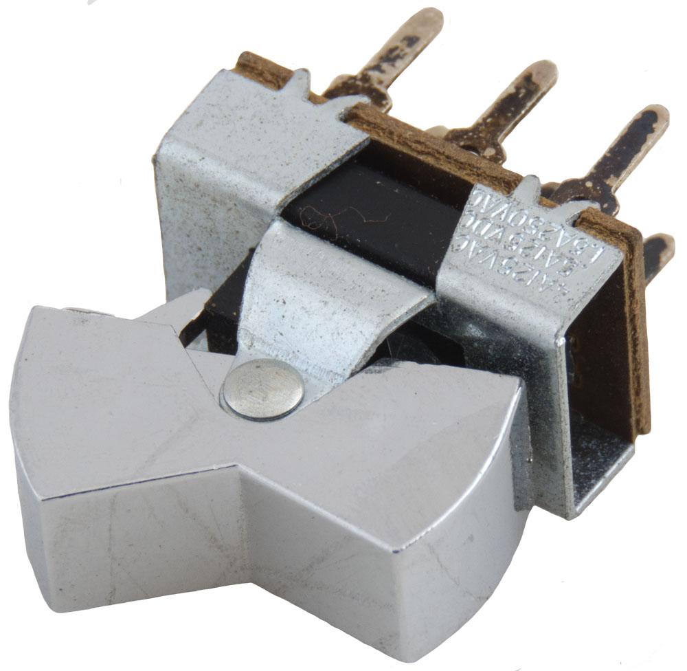 Rocker Switches Surplus Sales Of Nebraska Is A 4 Way Switch Dpdt Uio Chrome Amp 125v Ac 05 Dc