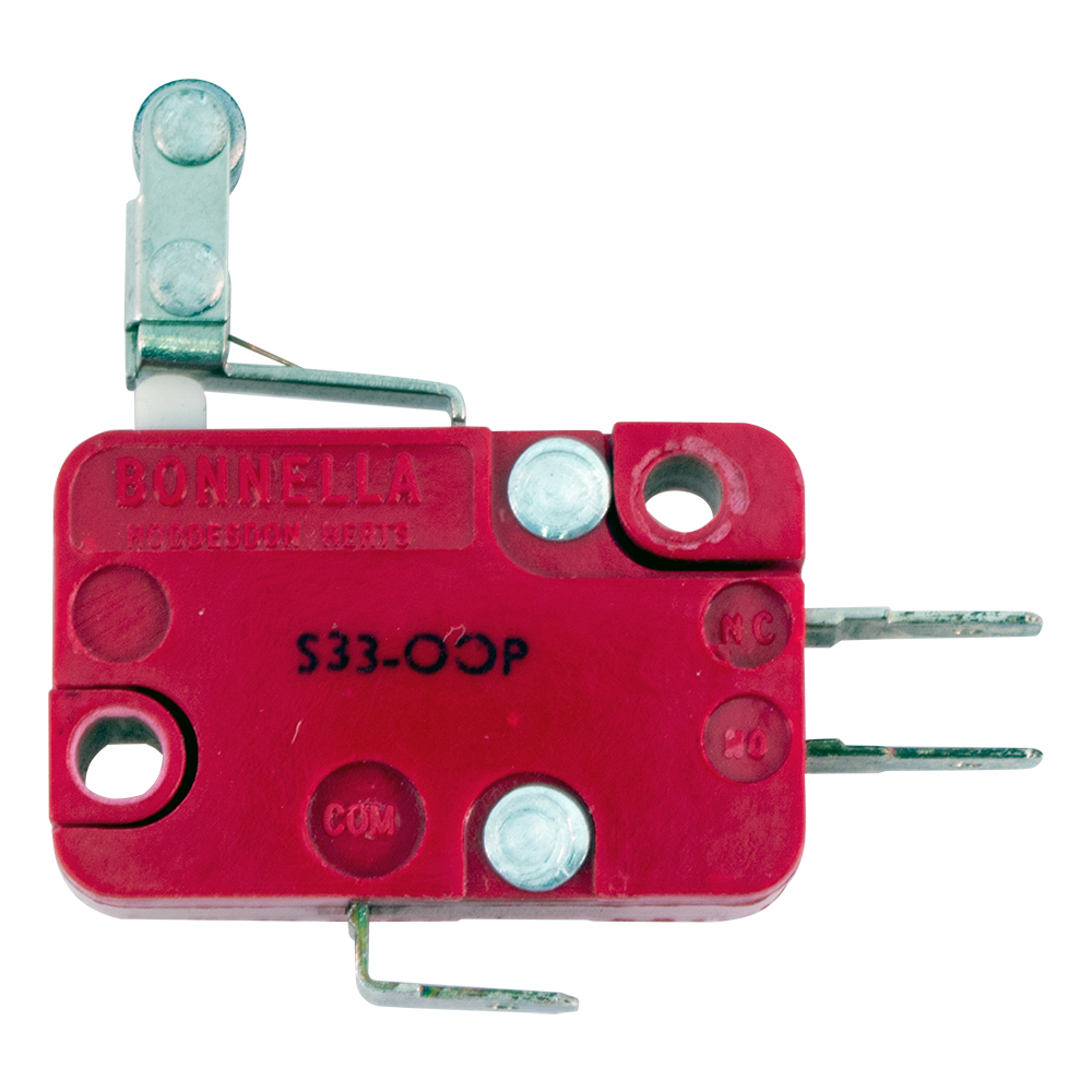 Roller Lever Arm Microswitches Micro Switch With Enlarge Image Swm S33 00p Bonnella Microswitch